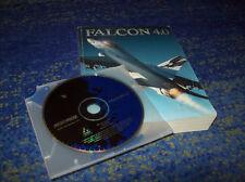 Falcon 4.0 PC alemana primera edición con instrucciones 500 páginas rodamient. Deutsch