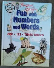 SNUGGLEPOT & CUDDLEPIE ~ FUN WITH NUMBERS AND WORDS ~ May Gibbs X-Lge HC 2007