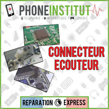 Reparation carte mere iphone 4S connecteur ecouteur