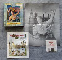 Rick Dangerous 2 Commodore Amiga Core Design Microprose vintage computer game
