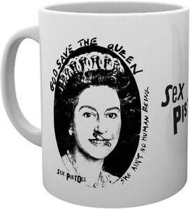 Sex Pistols God Save The Queen Ceramic Mug (ge)
