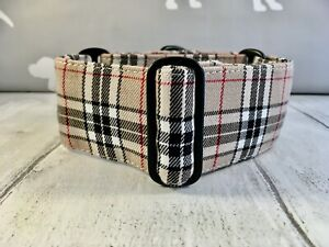 Burberry Dog Collar Martingale Collar Martingale Collar and Lead Greyhound