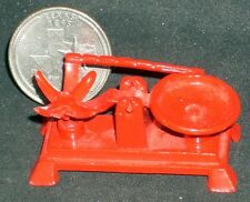 Red Prospector or Butcher Scale Store Grocery 1:12 Vintage Prospecting #1234