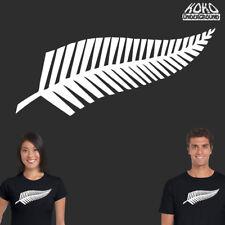 New Zealand Kiwi Kiwiana Fern Maori NZ Tee T Shirt Top 100% Cotton Mens Womens
