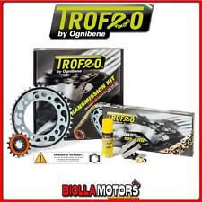 255723000 KIT CATENA CORONA PIGNONE TROFEO YAMAHA XJ-6, XJ-6 Diversion - ABS 201