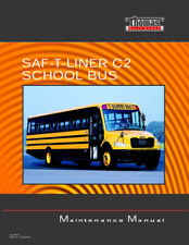 New SAF-T-LINER C2 Thomas School Bus Maintenance Manual