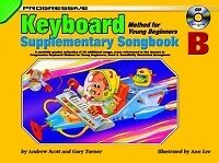 PROGRESSIVE KEYBOARD Young Beginner Supp Songbk B*