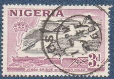 NIGERIA  SG 73  (B436) Good  Used  with 'JOS'  cds