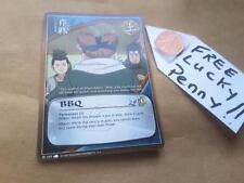 Naruto Card TCG CCG  397  BBQ  F/S + LUCKY PENNY