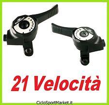 Leva CAMBIO 21 VELOCITA' compatibile SHIMANO /Stile VINTAGE per manubri 22,2 mm