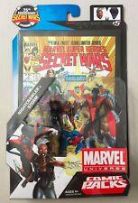 "Marvel Universe 3 3/4"" STORM & NIGHTCRAWLER Action Figure 2 Pack Comic"