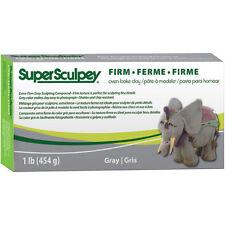 Super Sculpey Firm Gray - Clay Grey 1 Oven Bake Lb454