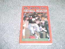 1985 NFL Football Register Media Guide Chicago Bears Walter Payton Cover