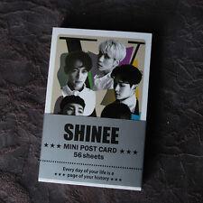 K-POP SHINEE TAEMIN KEY ONEW Mini Post Card 56pcs KPOP star