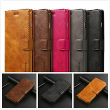 For iPhone XR 8 7 Plus XS Max Magnetic Leather Wallet Case Card Slot Flip Cover