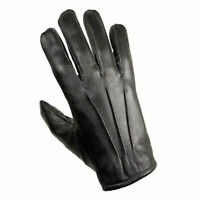 MENS DRIVING GLOVES TOP QUALITY SOFT GENUINE GOATSKIN UNLINED REAL LEATHER UK
