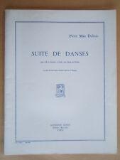 PARTITION SUITE DE DANSES POUR ALTO & ORCHESTRE A CORDES avec HARPE AD LIBITUM