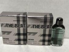 Lot of 2pcs The Beat by Burberry 0.17 oz/5ml Eau De Toilette Splash Mini for Men