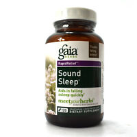 Gaia Herbs RapidRelief Sound Sleep - 120 Vegetarian Liquid Phyto-Caps