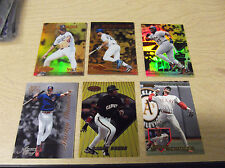 1995 SELECT CERTIFIED BB #120 TODD HOLLANDSWORTH MIRROR GOLD INSERT--STORE