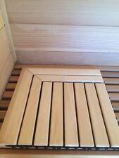 Corner pieces for Aspen Flooring Tile. Use for saunas, bathrooms, etc. 2 Pieces
