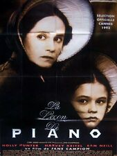 Affiche 120x160cm LA LECON DE PIANO /THE PIANO 1993 Jane Campion - Holly Hunter