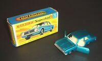 MATCHBOX Superfast No.25 FORD CORTINA GT Lesney 1970 - Super Cond, Type G Box