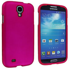 Hot Pink Snap-On Hard Case Cover for Samsung Galaxy S4