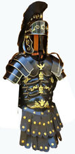 Armor Roman Greek Muscle Armour Jacket with Shoulder & Medieval Helmet