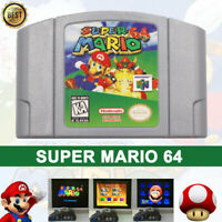 Super Mario 64 Video Game Cartridge Console Card Version For Nintendo N64