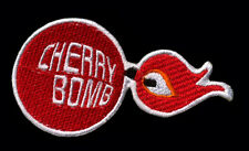 Cherry Bomb Patch Muffler Exhaust Hot Rod Muscle Car Mechanic