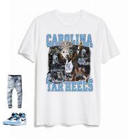 Levelwear NCAA NORTH CAROLINA TAR HEELS Nostalgia T-Shirt NEU//OVP
