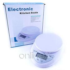 Balanza Digital Cocina 1gr-5kg en Caja a1246