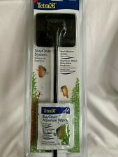 """TETRA  16""""  STAY CLEAN CLEANING SYSTEM  *  w/ Fish Aquarium Wipes  *  BRAND NEW"""
