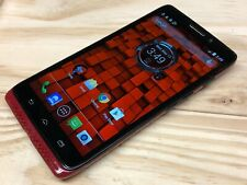 Motorola Droid MAXX XT1080 - 16GB - Red (Verizon) Clean IMEI - Works - Good Cond