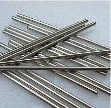 OD 10mm x 1000mm Chromed  Cylinder Liner Rail Linear Shaft Optical Axis x 3Pcs