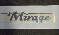 Coachman Mirage name sticker graphic decal self adhesive PDC3