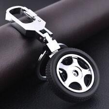 Mens Cool Car Keychain Creative 3D Tyre Alloy KeyRing Keyfob