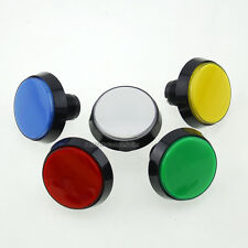 5 Pcs 60mm LED Illuminated Push Button + Micro Switch For Video Arcade Machines
