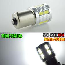 4x 6V 1156 ba15s 17 SMD LED White Car Bulb Light Brake/Turn/Tail/Reverse Lamp