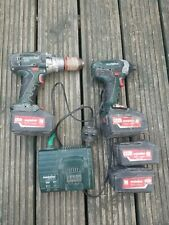 metabo drill and impact driver