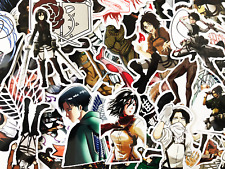 42 Attack on Titan Shingeki no Kyojin Anime Laptop Stickers - Fast US Shipping