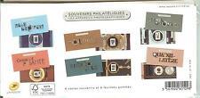 6 Souvenirs philatéliques N°101 à 106 LES APPAREILS PHOTOGRAPHIQUES 2014 blister