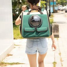 Pet Cat Bag Window Foldable Astronaut Backpack Travel Carrier Capsule Handbag