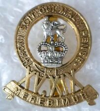 Badge- 15th-19th King's Royal Hussars Cavalry Cap badge QC with Slider