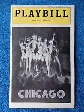 Chicago - 46th Street Theatre Playbill - April 1976 - Gwen Verdon - Chita Rivera