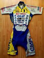 Ellegi (Pissei) CMP Cycling Team Time Trial Skinsuit ,Chronosuit Size: 3~ M