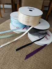 5 X Assorted Satin Ribbons