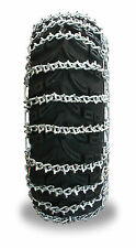 Grizzlar GTU-529 ATV Tire Chains Snow Ladder 2 link  24x8-11 24x8-12 25x8-12