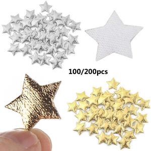 Scrapbooking Hair Accessories Stars Ornaments Foam Embellishments Fabric stars